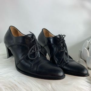 Shoes - Hobbs black heel oxford pump size 36